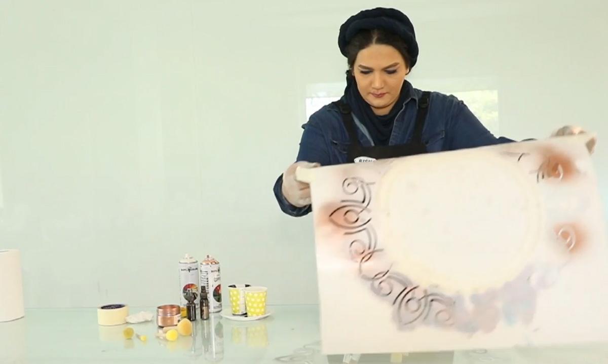 نمونه کار ویدیو تبلیغاتی خانم حراتیان