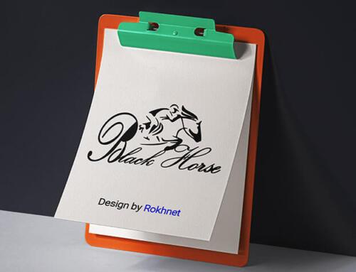طراحی لوگو فروشگاه بلک هورس